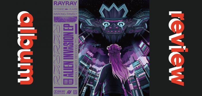 RayRay Takes Over EDM with an 'Alien Invasion'
